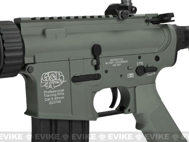 Pre-Order ETA April 2017 G&P M4 CQB-R Airsoft AEG Rifle (Package: Foliage Green / Add Battery + Charger)