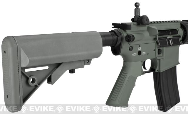 G&P M4 CQB-R Airsoft AEG Rifle - Foliage Green (Package: Gun Only)