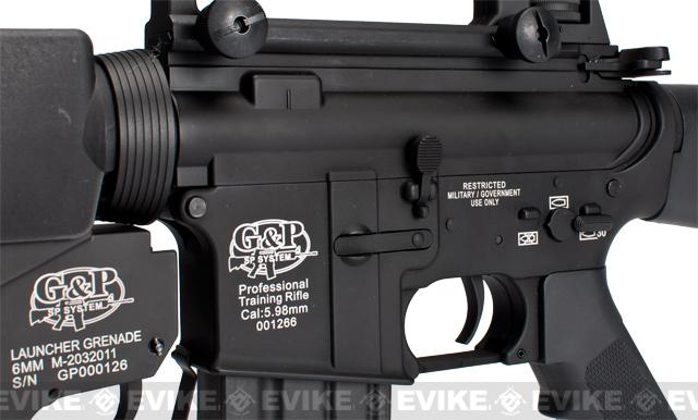 G&P Scar Face M16A3 Full Metal M16 VN Airsoft AEG Rifle w/ M203 Grenade Launcher (Package: Gun Only)