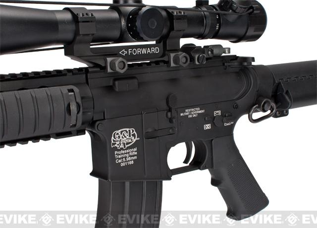 G&P Full Metal Navy Seal Custom Airsoft AEG Rifle w/ M1 Sniper Scope