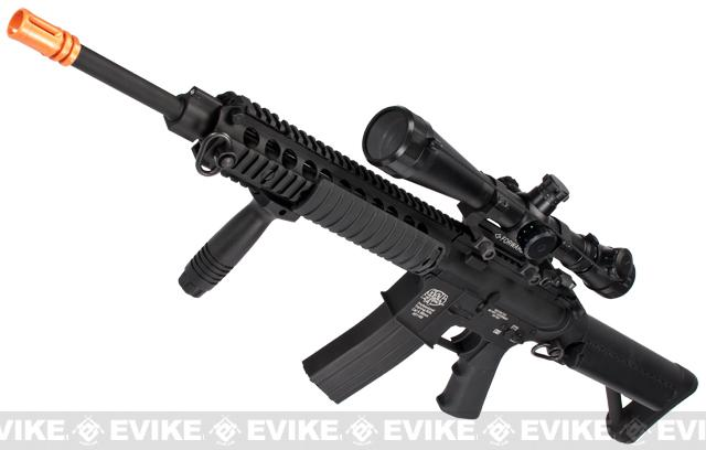 G&P Navy SEAL Custom Airsoft AEG Rifle w/ M1 Sniper Scope (Package: Add Battery + Charger)