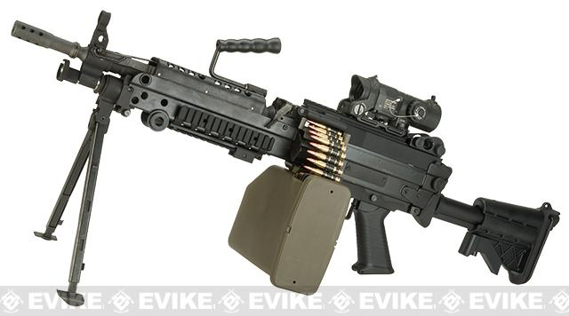 Pre-Order ETA January 2017 G&P M249 SAW Airsoft AEG Rifle with Collapsible Stock - MK46 Version (Package: Gun Only)