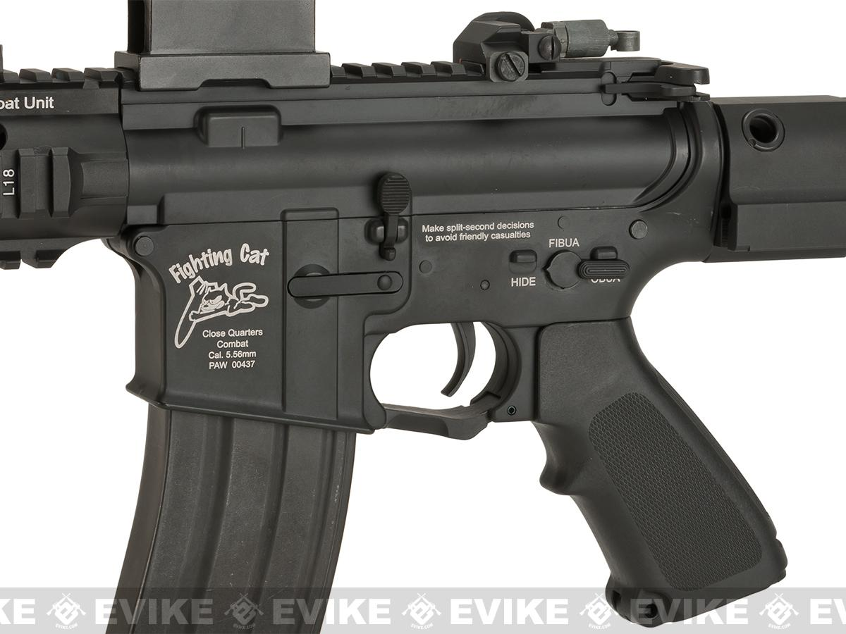 G&P Fighting Cat Airsoft CQB M4 Airsoft AEG with Tanker Stock (Package: Gun Only)