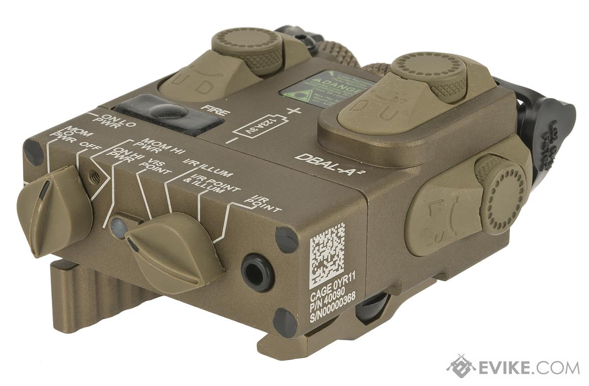 G&P PEQ GP959 Laser and Infrared Designator with IR Illuminator - Tan