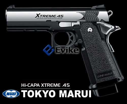Tokyo Marui Hi-CAPA Xtreme .45 Full Size Full Automatic Airsoft Gas Blowback Pistol