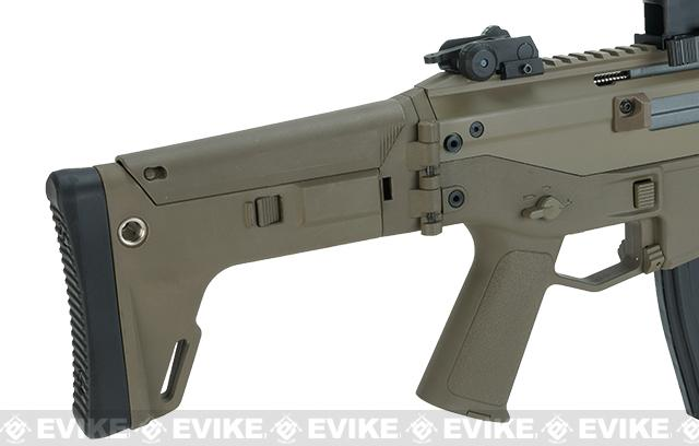 G&P Custom PTS Licensed Masada Airsoft AEG Rifle - Dark Earth (Package: Add Battery + Charger)