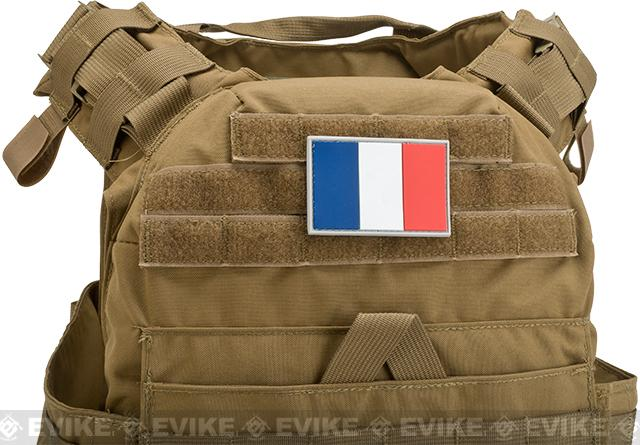 France PVC Flag Patch