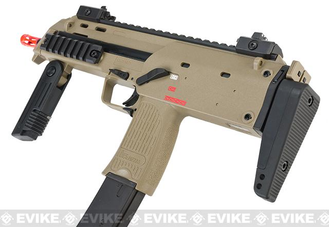 H&K Umarex MP7 Rapid Deployment Hard Kick Airsoft Gas Blowback by KWA (Desert Tan)
