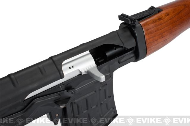 Pre-Order ETA September 2016 AIM Co2 High Power Gas Blowback AK SVD Airsoft GBB Sniper Rifle - Real Wood