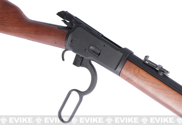 A&K Special Edition M1892 High Power Lever Action Airsoft Gas Sniper Rifle (Model: Imitation Wood Stock)