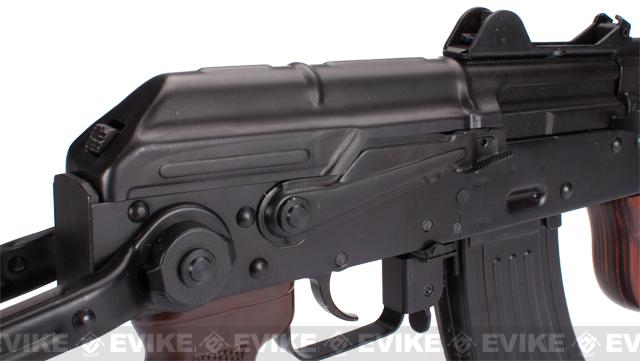 z GHK AKMSU Full Steel Airsoft Gas Blowback GBB Rifle