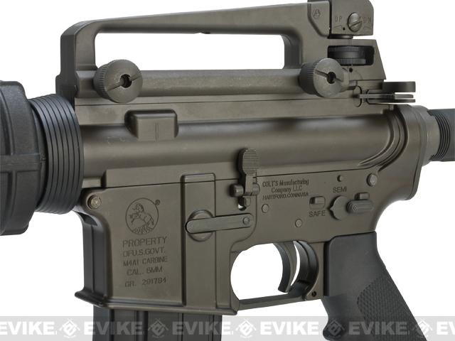 z King Arms Full Metal Fully Licensed Colt M4A1 Carbine Airsoft Gas Blowback GBB Rifle