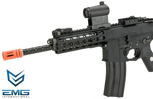 EMG Knights Armament Airsoft PDW M2 Gas Blowback Airsoft Rifle (Model: 400FPS / Co2 Magazine)