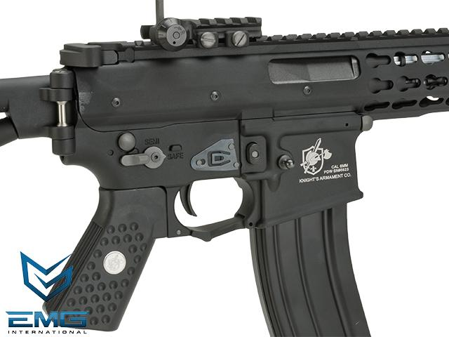 EMG Knights Armament Airsoft PDW M2 Compact Gas Blowback Airsoft Rifle (Model: 350 FPS)