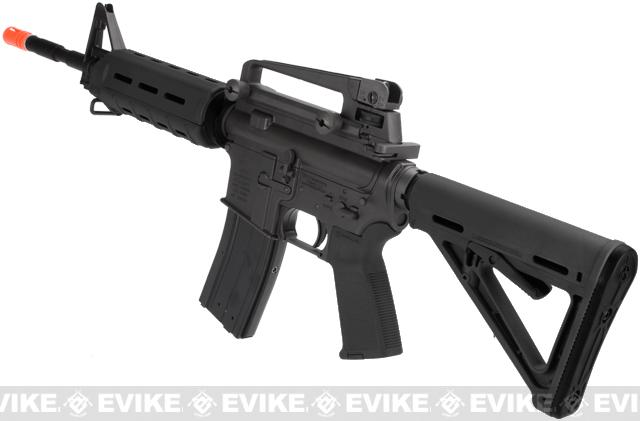 z King Arms Full Metal M4 MOE Carbine Airsoft Gas Blowback GBB Rifle - (Black)