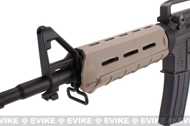 z King Arms Full Metal M4 MOE Carbine Airsoft Gas Blowback GBB Rifle - (Dark Earth)