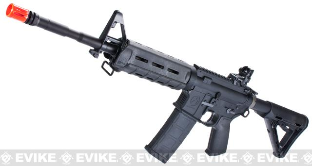 z KWA Full Metal Magpul PTS LM4 Airsoft GBB Gas Blowback Rifle - Black
