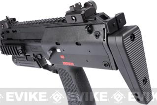 H&K Umarex MP7 Rapid Deployment Hard Kick Airsoft Gas Blowback by KWA (Black)