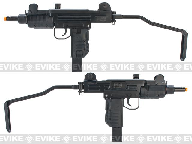 KWC CO2 Powered Airsoft Full Size Hard Kick UZI Submachine Gun