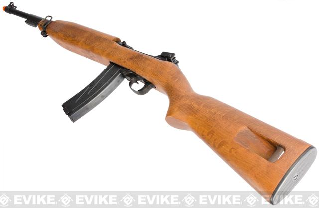 Marushin 6mm Metal M2 Carbine Airsoft GBB Rifle with Real Wood Stock