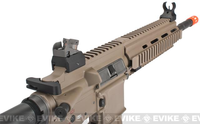 WE-Tech Open Bolt M4-SOL Carbine Airsoft GBB Rifle - Dark Earth