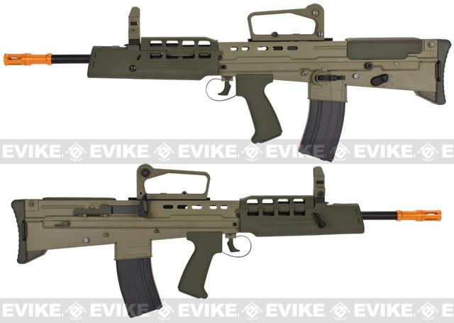 WE L85 Bullpup Full Metal Airsoft Gas Blowback GBB Rifle - Tan