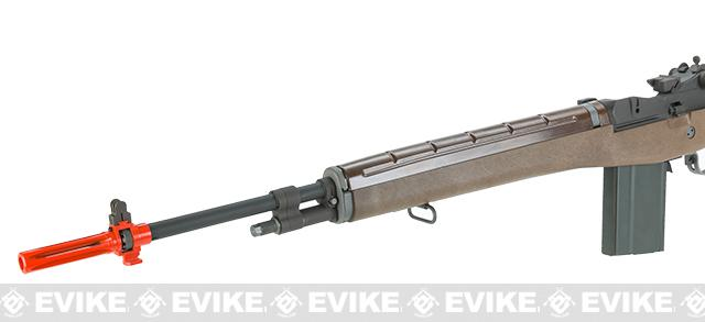 Full Size Gas Blowback M14 Full Metal Airsoft Sniper Rifle by WE Tech - Metal / Imitation Wood (Package: Rifle)