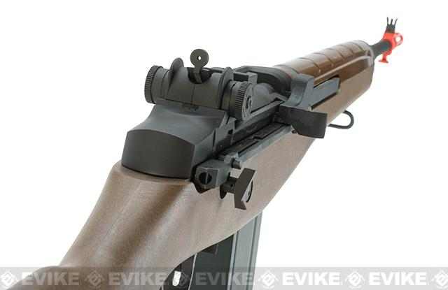 Pre-Order ETA December 2016 Full Size Gas Blowback M14 Full Metal Airsoft Sniper Rifle by WE Tech - Metal / Imitation Wood (Package: Rifle)
