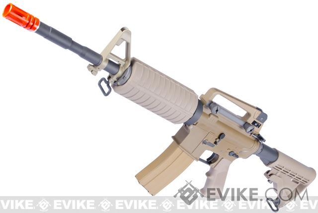 WE Open Bolt Full Metal M4 Airsoft Gas Blowback GBB Rifle (Color: Desert Tan)