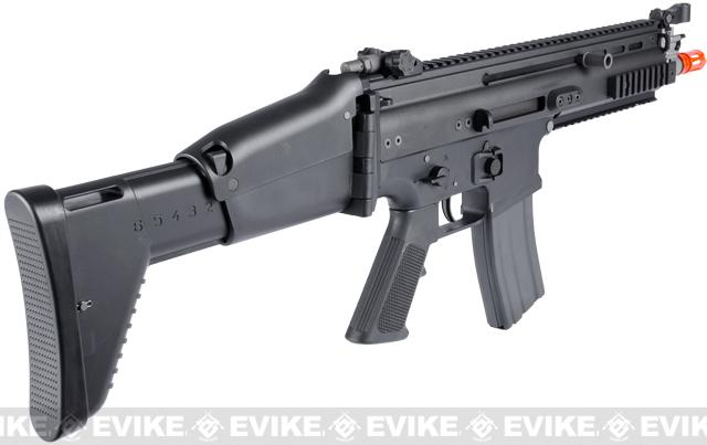 Pre-Order ETA May 2017 FN Licensed Open Bolt SCAR-L Airsoft GBB Rifle by WE - Black