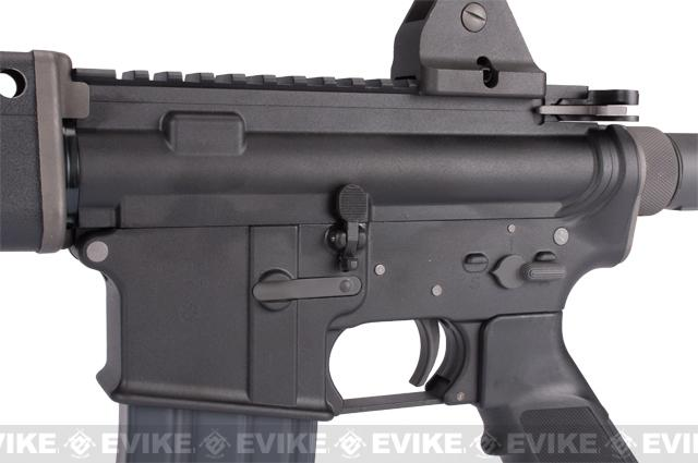 WE Open Bolt Full Metal M4 T91 Carbine Airsoft Gas Blowback GBB Rifle - Black