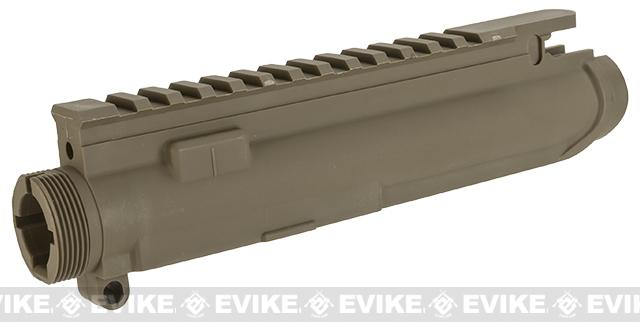 z G&G Combat Machine Replacement Polymer Upper Receiver For Non-Blowback M4 AEGs - Tan