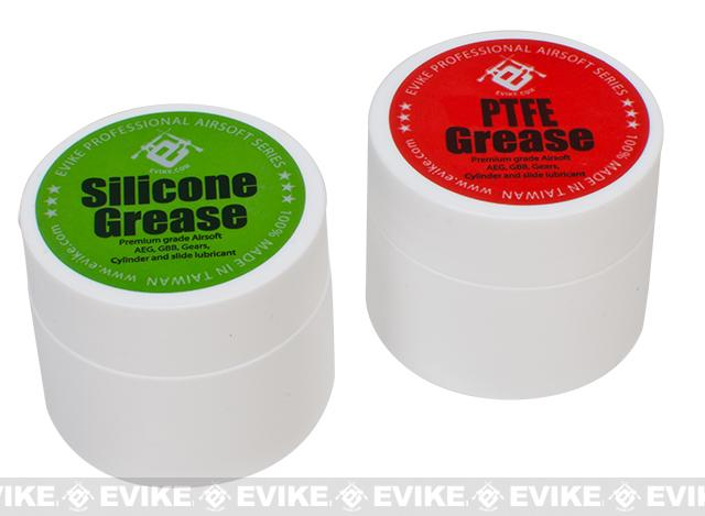 Evike.com Silicone & PTFE Grease (X-Large) Combo Set for Airsoft AEG & GBB Pistols & Rifles