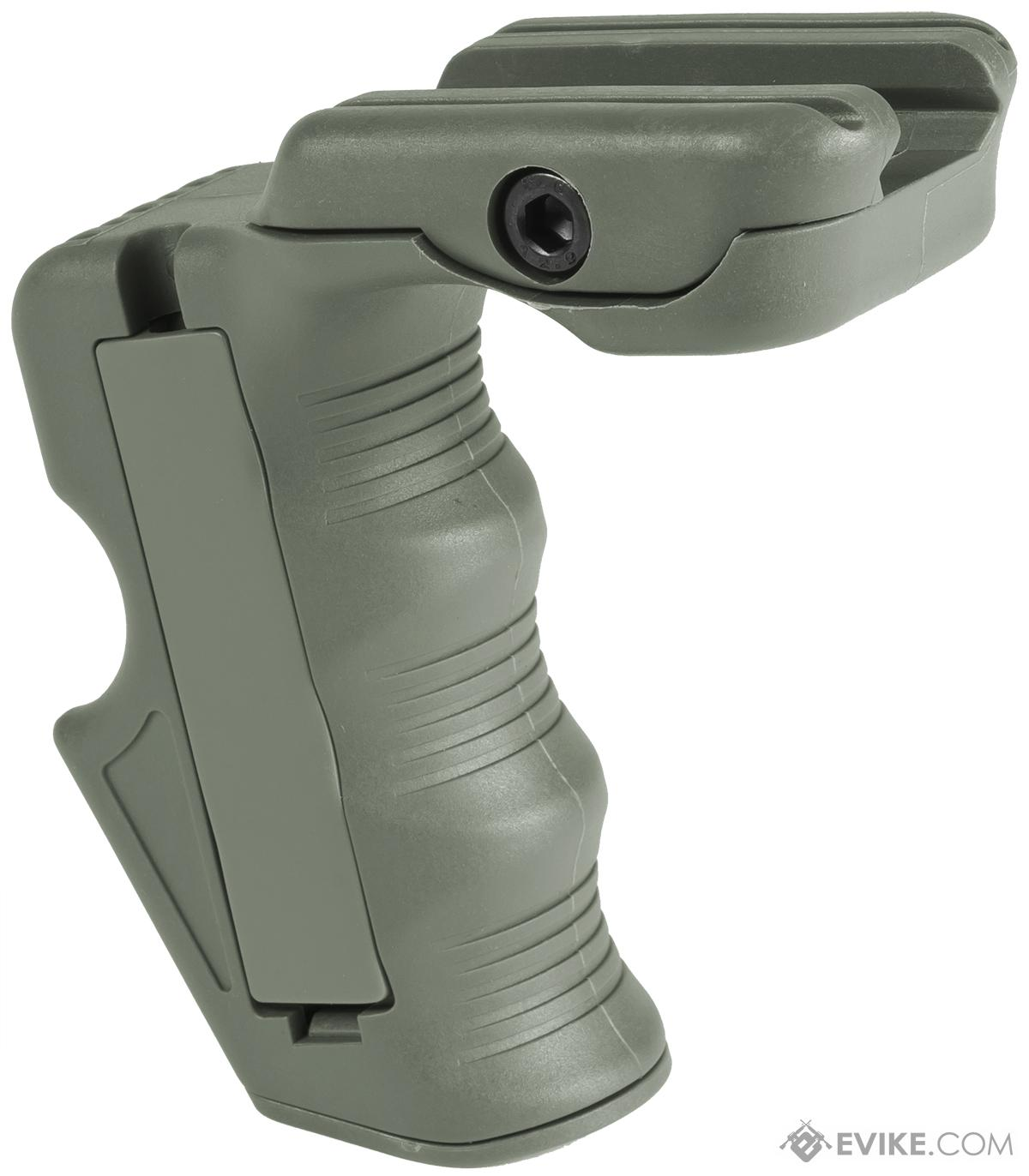 BD Vertical Support Grip for Airsoft RIS - Foliage Green