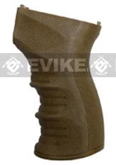 APS US Type Ergonomic Motor Grip for AK Series Airsoft AEG - Dark Earth