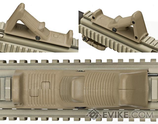 Magpul USA AFG2 AFG II Angled Fore-Grip 2 Rail-Mounted Forward Grip (Color: OD Green)