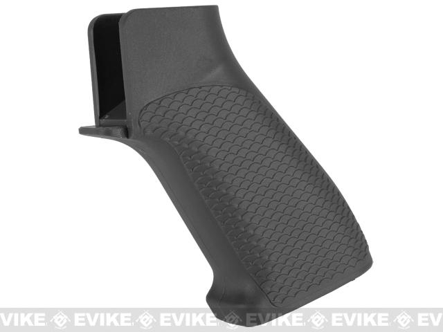 G&P Snake Skin Pistol Grip for M4 / M16 Series Airsoft AEG Rifles - Black
