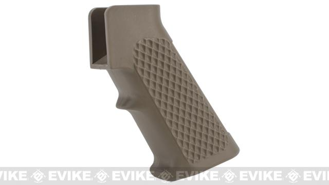 G&P Golf Ball Pistol Grip for M4 / M16 Airsoft AEG Rifles - Sand