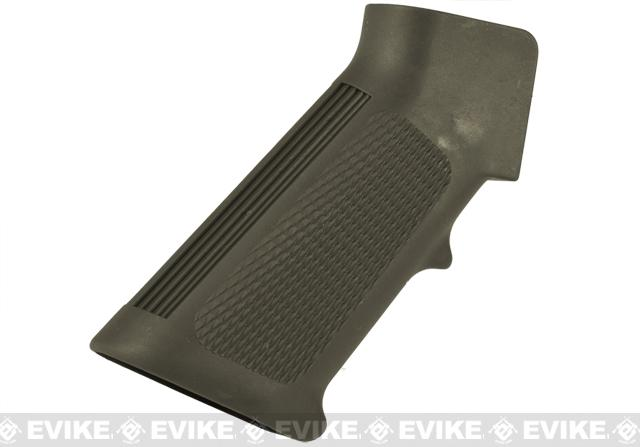 Matrix Low Noise Nylon Fiber Motor Grip for M4/M16 Series Airsoft AEG - (OD Green)