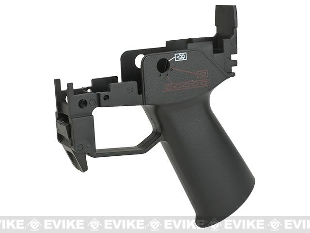 JG Replacement Grip and Magazine Catch Assembly for G36 Series Airsoft AEG Rifles - Black