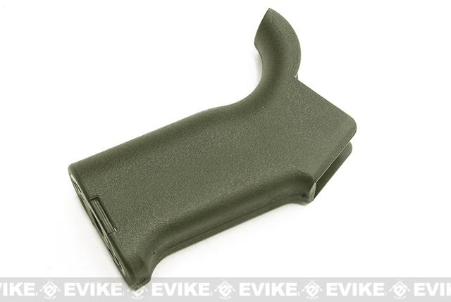 Speed Ergonomic Motor Grip for M4 M16 Series Airsoft AEG by Matrix (Color: OD Green)