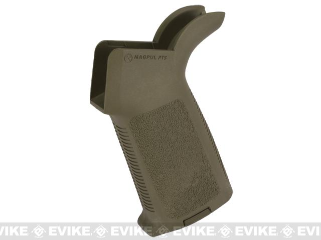 z Magpul PTS MOE Motor Grip for M4 / M16 Airsoft AEG Rifles - (New Texture / OD Green)