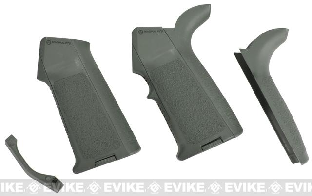 z Magpul PTS MIAD Grip (Full Kit) for M4 / M16 Airsoft AEG Series  - Foliage Green