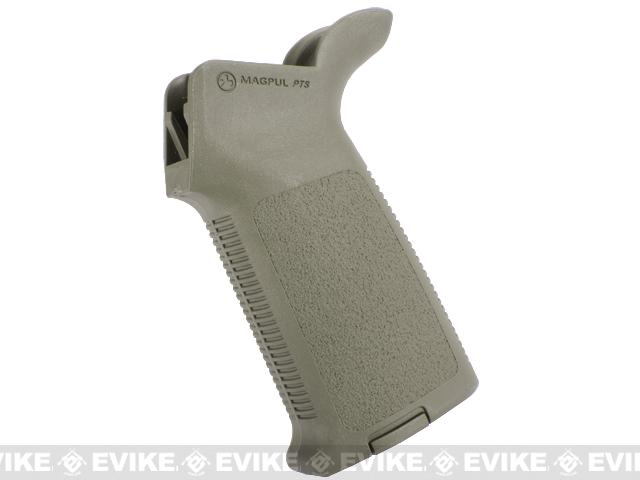 z Magpul PTS MOE Grip for WA M4 & G&P WOC Series Airsoft Gas Blowback Rifle (Foliage Green)