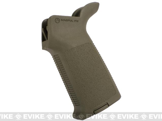 Magpul MOE Grip for Real Steel AR / WA, G&P, King Arms, WE M4 Airsoft Gas Blowback Rifles - OD Green