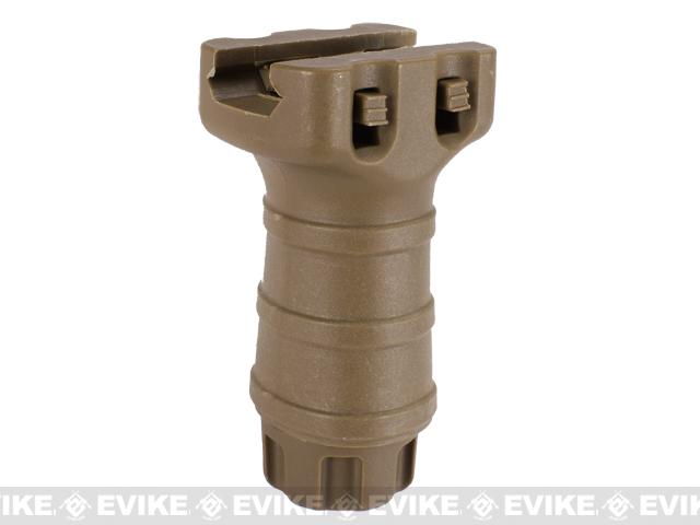 Stubby RIS Tactical Vertical Support Fore Grip For Airsoft - Dark Earth