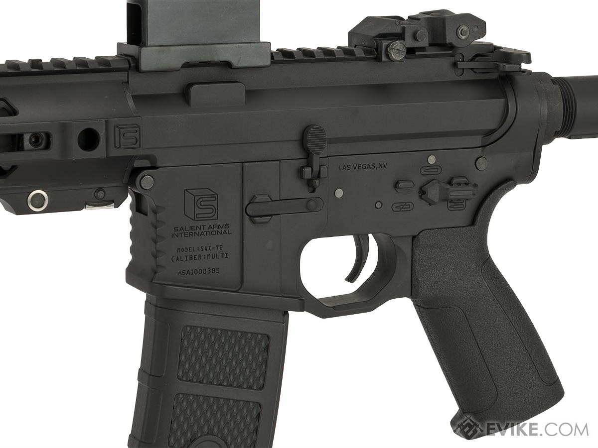 Pre-Order ETA June 2017 EMG / SAI GRY AR-15 AEG Training Rifle w/ JailBrake Muzzle (Configuration: Carbine / Black ITAR Furniture, Add Battery + Charger)