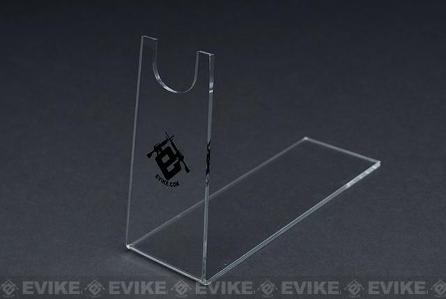Matrix Professional Acrylic Clear Gun Stand for Pistols & Hand Guns