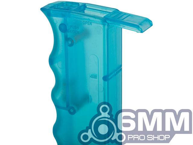 6mmProShop 400 Round SMG Mag Size Airsoft Universal BB Speed Loader - Blue