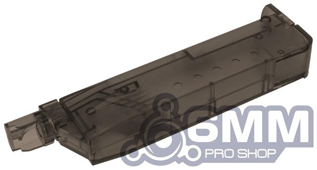6mmProShop 120 Round Pistol Mag Size Airsoft Universal BB Speed Loader (Color: Smoke)